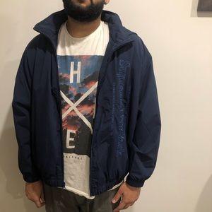 Supreme Navy track jacket